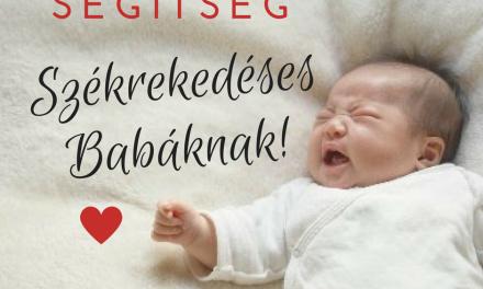 Székrekedéses kisbabák – okok, megoldások