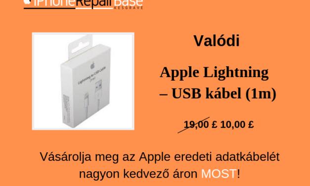 iPhone töltőkábelek olcsón – eredeti Apple lightning kábel vagy utánzat?