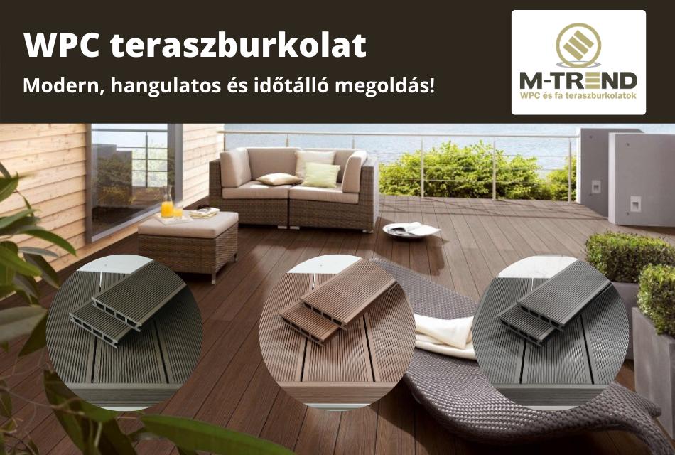 M-TREND Hungary Kft. – WPC és fa teraszburkolatok