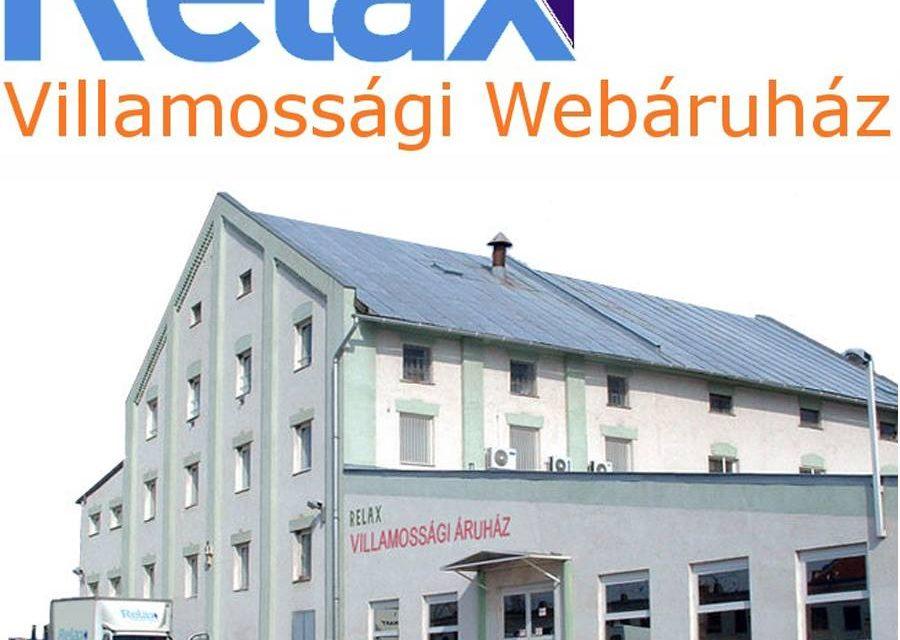 Relaxvill a villamossági webáruház