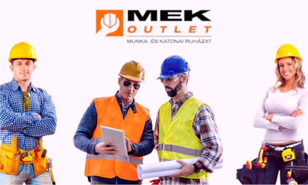 MEK Outlet cégbemutató