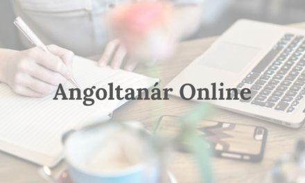Angoltanár Online – tanulj angolul otthonról