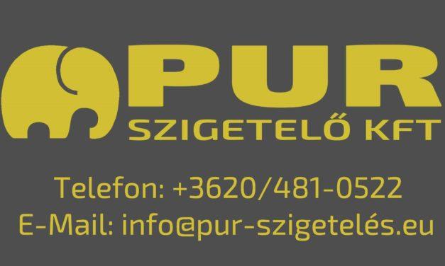 PUR-Szigetelő Kft. – tetőszigetelés, vízszigetelés purhabbal