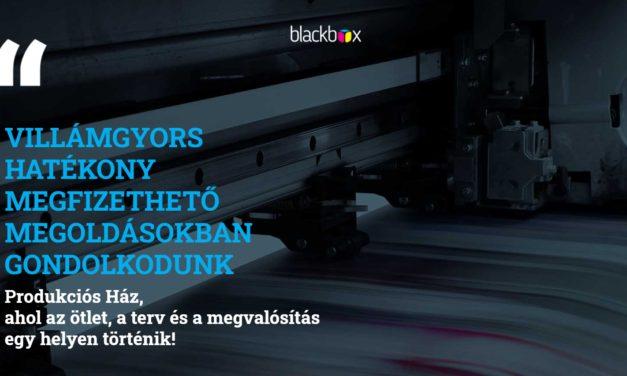 Blackbox produkciós ház – reklámeszközök és marketing megoldások