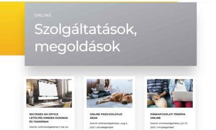 Online szolgáltatás